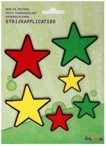 Applicaties 6 stuks op kaart Limburg sterren mix