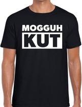 Zwarte Cross t-shirt mogguh kut - zwart Achterhoek festival shirt voor heren - zwarte cross S