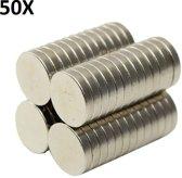50x Supersterke Kleine Neodymium Kleine Magneetjes Set - Ronde Koelkast / Whiteboard Magneten - 10 x 2 mm