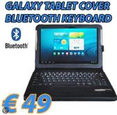 Mr Handsfree - Blue Tabcover - zwart