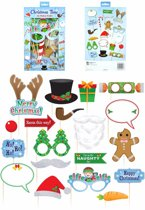 Kerst party foto props set