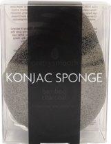 Skin Academy Bamboo Charcoal Konjac Sponge - Tear Drop