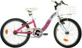 Dino Winx - Fiets - Meisjes - Roze;Wit - 20 Inch