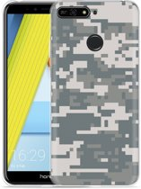 Honor 7A Hoesje Army Digi Camouflage