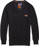 Superdry Orange Label Crew Sweater  Sporttrui casual - Maat S  - Mannen - grijs