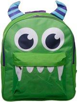 Super leuke schooltas, rugzak logeertas rugtas voor kinderen  kids stevig met  stevige verdikte rugbanden Monster.