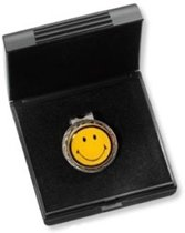 Head clip met ball marker Smiley