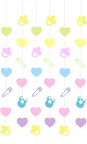 6 String Decorations Baby Shower 210 cm
