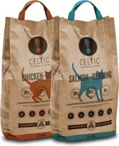 Celtic Connection Cat - Chicken/Salmon - Mix Pack - 2x 2.5Kg