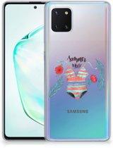 Samsung Galaxy Note 10 Lite Telefoonhoesje met Naam Boho Summer