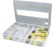 Spro Tackle Box - Viskoffer - 31.5 x 21.5 x 5.0 cm - Transparant
