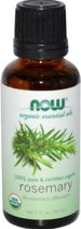 Biologische etherische olie rozemarijn (30 ml) - Now Foods