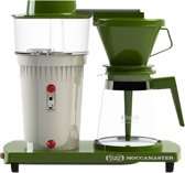 Moccamaster Editie '68 - Koffiezetapparaat - Groen/Wit
