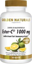 Golden Naturals Ester-C 1000 mg (180 tabletten)