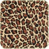 Tafelkleed op rol van 11m bij 120cm jaguarprint.