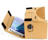 Cardboard inclusief hoofdband / Virtual reality 3D bril - geschikt voor smartphones tot 5,5 inch