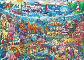 Puzzel Magic Sea 1000 3hoekig Heye 29839
