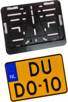 Kentekenplaathouder Motor ABS voor kentekenplaat 210x143mm Nederland