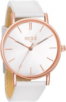Regal Slimline R1628R-19 - Horloge - Wit