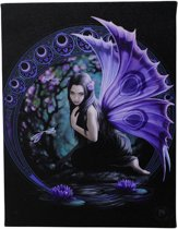 Anne Stokes Niaid canvas schilderij