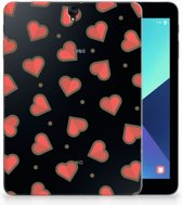 Samsung Galaxy Tab S3 9.7 Tablet Siliconen hoes Design Hearts