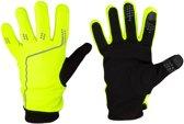 Avento Sporthandschoenen met Touchscreen Tip - Fluorgeel/Grijs - L/XL