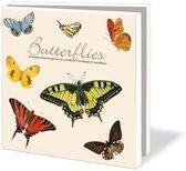 Butterflies Wenskaarten Formaat 14 5 X 14 5 Cm