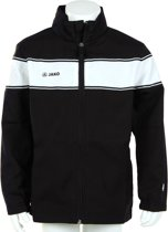 Jako Woven Jacket Player Junior - Sportshirt - Kinderen - Maat 164 - Black;White