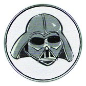 Star Wars™ Clicks - Darth Vader Mask catroon white