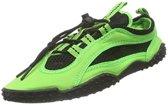 Playshoes surfschoenen uni neon groen