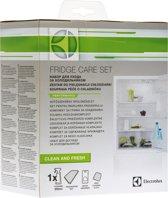 Electrolux koelkast onderhoudsset met geurabsorbeerder, vershoud mat, koelkast reinigingsspray en microvezeldoekje - E6RK4102 - universeel