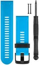 Garmin Siliconen Band - Voor Fenix 3 - 26 mm - blauw