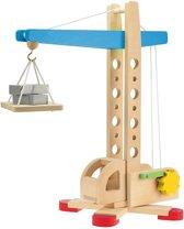 Toi-toys Houten Hijskraan 41 Cm