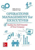 Operations Management for Executives.