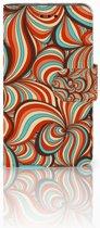 Samsung Galaxy Core i8260 Bookcase hoesje Design Retro