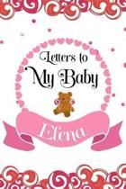 Letters to My Baby Elena