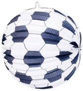 Voetbal lampion 24 cm
