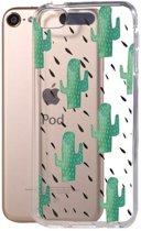 GadgetBay Cactus hoesje iPod Touch 5 en 6 doorzichtig TPU case