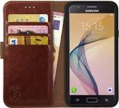 Rosso Element Samsung Galaxy J5 2016 Hoesje Book Cover Bruin