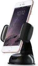 Universele Autohouder Telefoon voor op Dashboard of Voorruit met extra kleefkracht zuignap - Voor alle merken