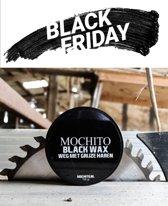 MOCHITO BLACK WAX | Dek Grijze Haren | Grijze haren dekken | Haar Wax | Zwarte wax | Haarverf zwart