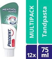 Prodent Mentol Power - 75 ml - Tandpasta - 12 stuks - Voordeelverpakking