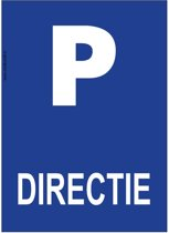 Bordje - Parkeren - Directie