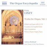 Liszt: Works for Organ Vol 1 / Andreas Rothkopf