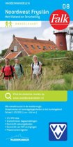 Falk wandelkaart 8 - Noordwest Fryslan met Vlieland en Terschelling