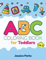 ABC Coloring Book for Toddlers