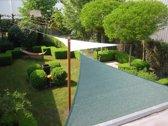 CamoBob - Schaduwnet driehoek - 420x420x420 - Groen