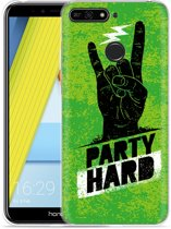 Honor 7A Hoesje Party Hard 3.0