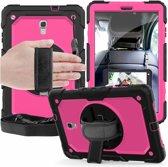 Samsung Tab A 10.5 draaibare Bumper Case roze