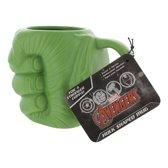 Marvel Avengers Hulk Shaped Mug